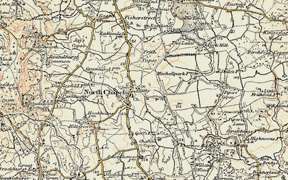 Old map of Northchapel in 1897-1900