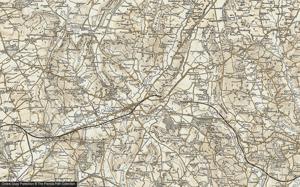 Old Map of Northcote, 1898-1900 in 1898-1900