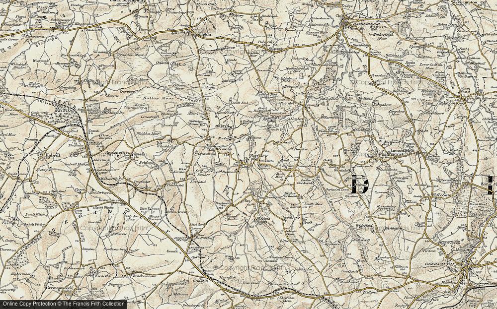 Northlew, 1900