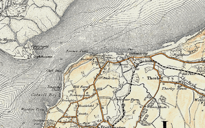 Old map of Norton in 1899-1909