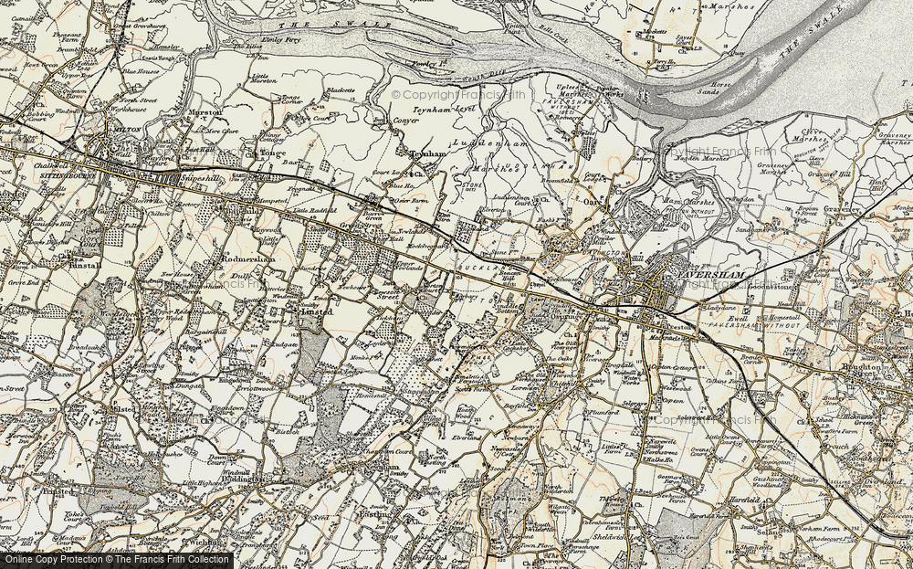 Old Map of Norton Ash, 1897-1898 in 1897-1898