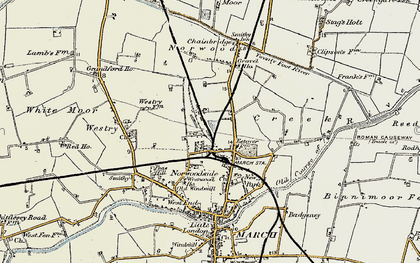 Old map of Norwoodside in 1901-1902
