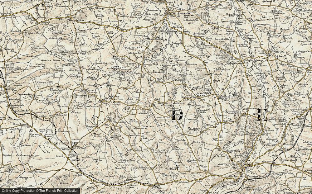 Oak Cross, 1899-1900