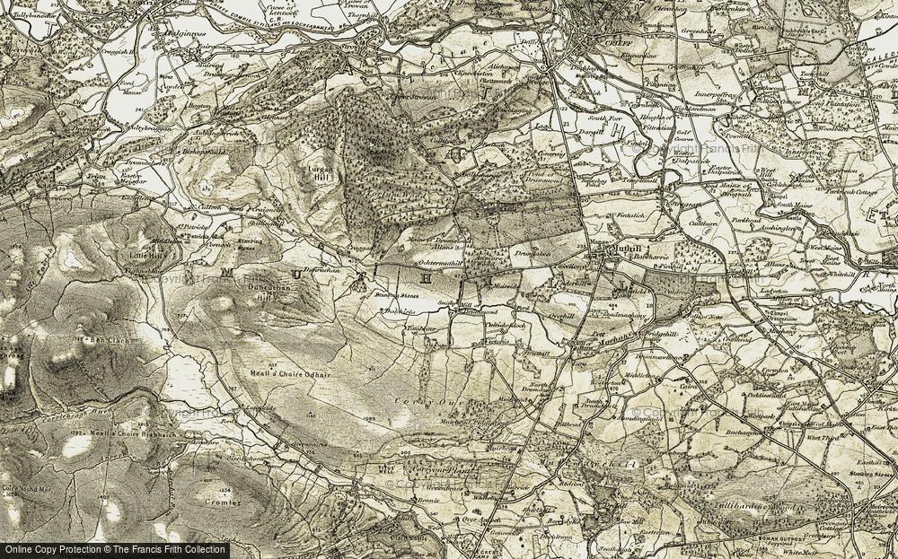 Ochtermuthill, 1906-1907