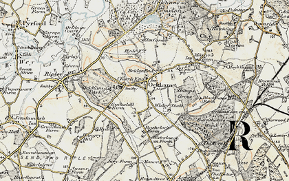 Old map of Bachelors in 1897-1909