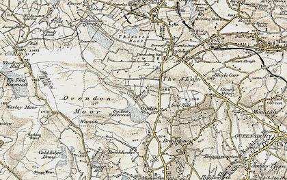 Old map of Ogden in 1903