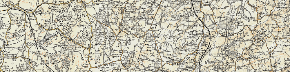 Old map of Leith Vale in 1898-1909