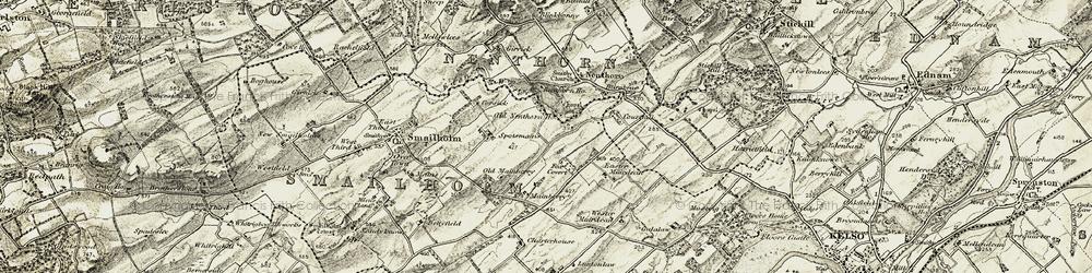 Old map of Wester Muirdean in 1901-1904