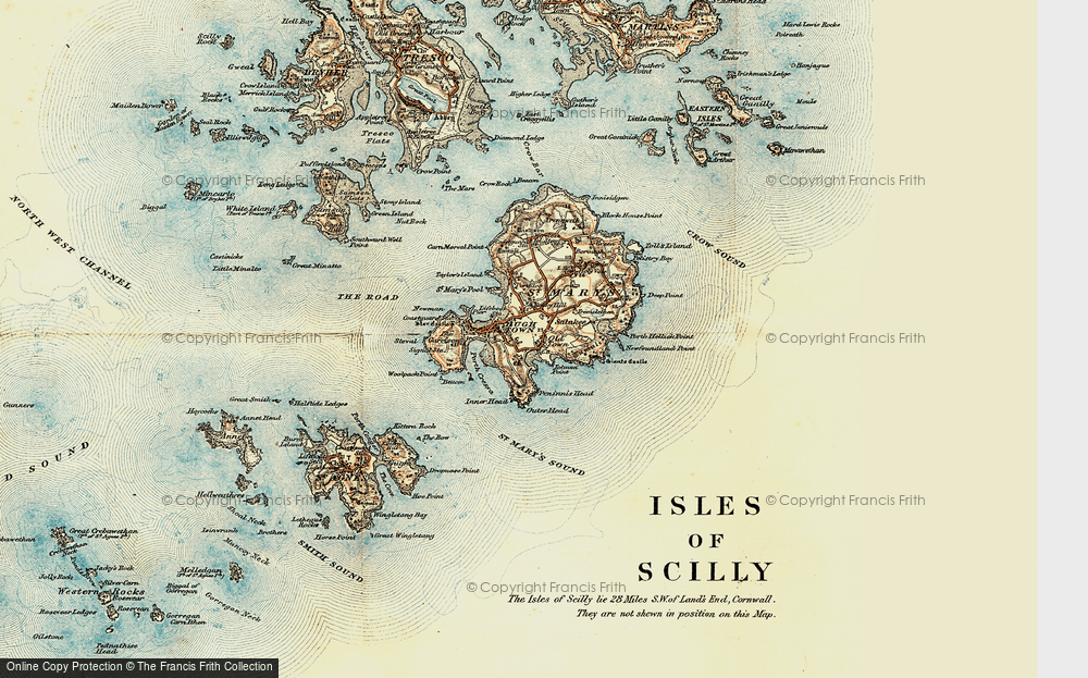 Old Map of Historic Map covering Tolman Point in 0
