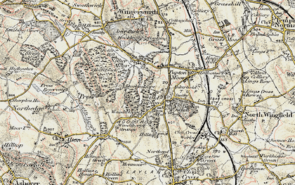 Old map of Old Tupton in 1902-1903