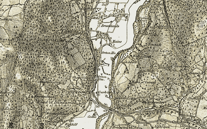Old map of Lintpots in 1910