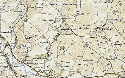 Old map of Leighton Hill in 1901-1903