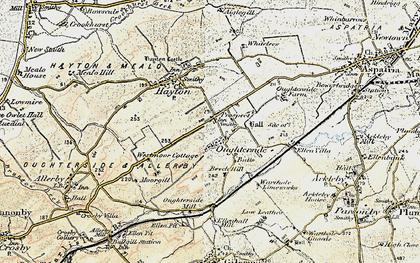 Old map of Tilekiln Cott in 1901-1904