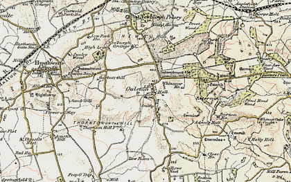 Old map of Alford Ho in 1903-1904