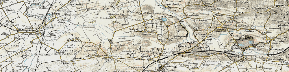 Old map of Aikhead Low Ho in 1901-1904