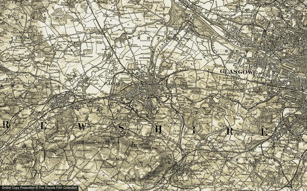 Paisley, 1905-1906