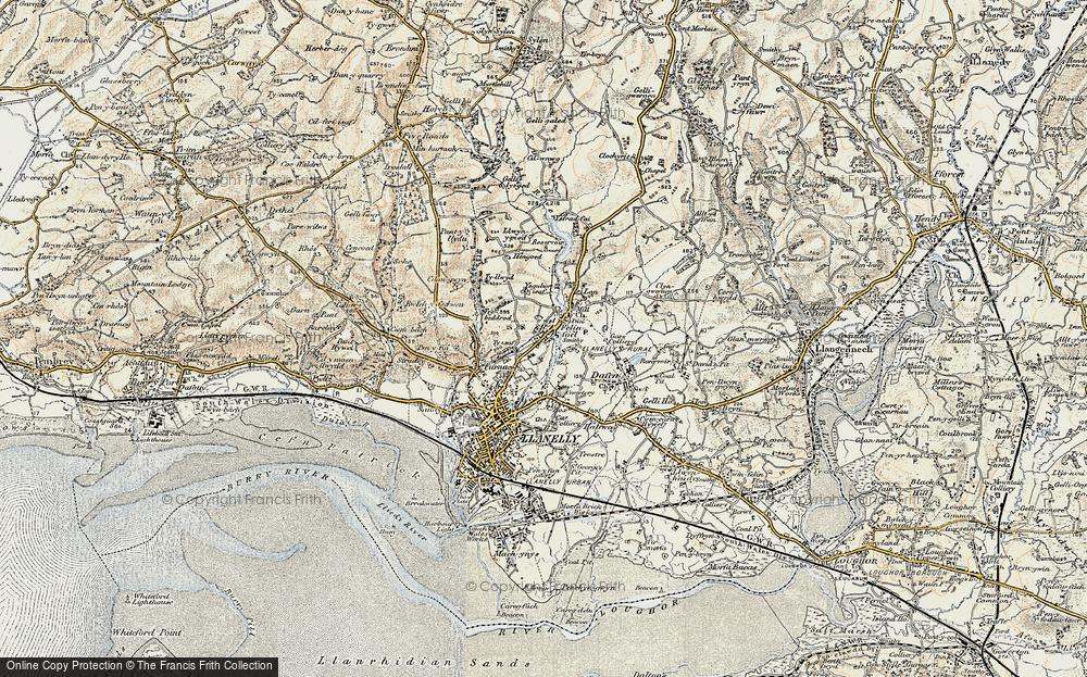 Panteg, 1900-1901