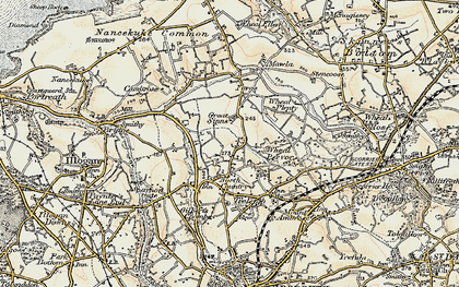 Old map of Parc Erissey in 1900