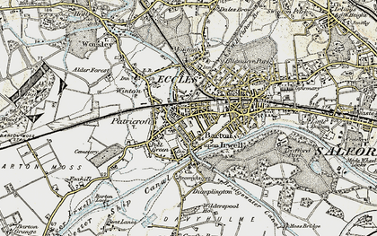 Old map of Patricroft in 1903