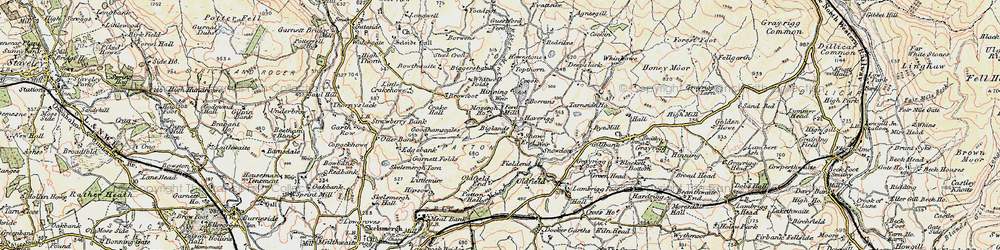Old map of Agnes Gill in 1903-1904