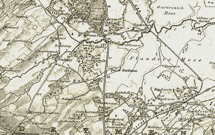 Old map of Barbadoes in 1904-1907
