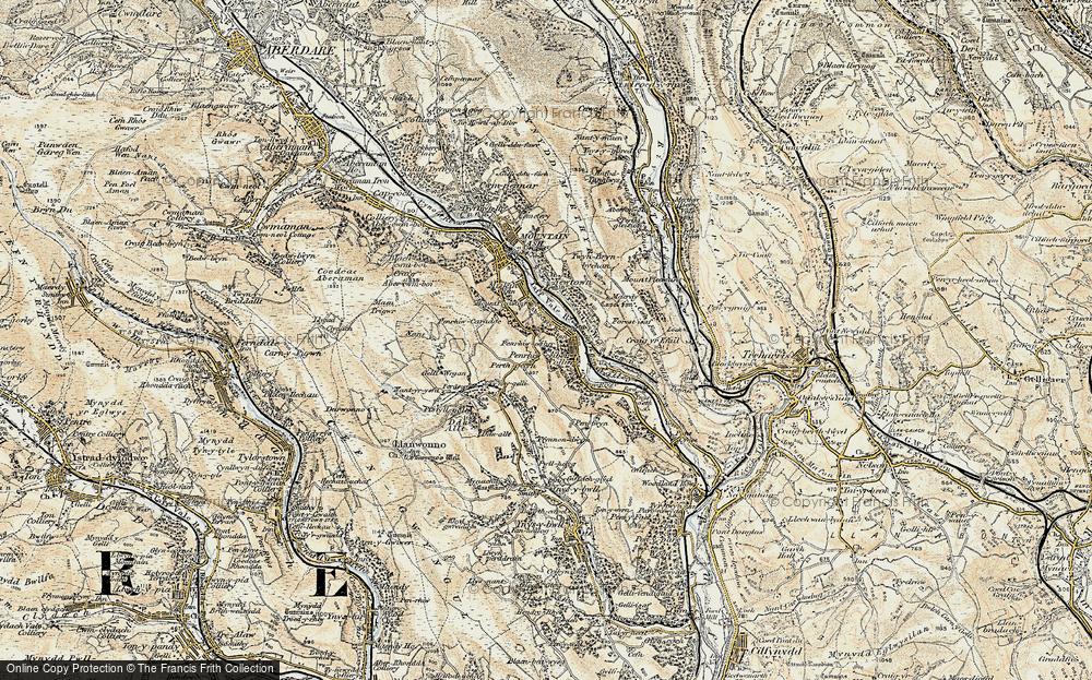 Penrhiwceiber, 1899-1900