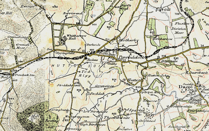 Old map of Penruddock in 1901-1904
