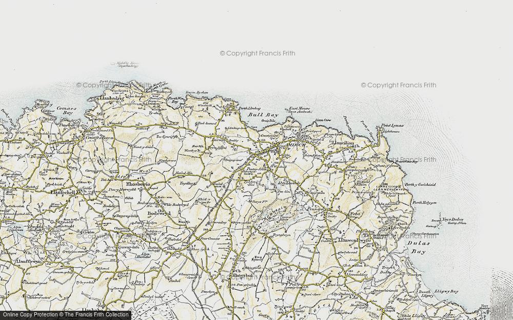 Old Map of Pentrefelin, 1903-1910 in 1903-1910