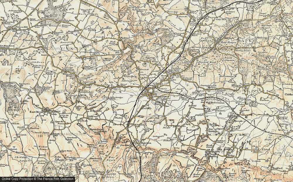 Old Map of Petersfield, 1897-1900 in 1897-1900