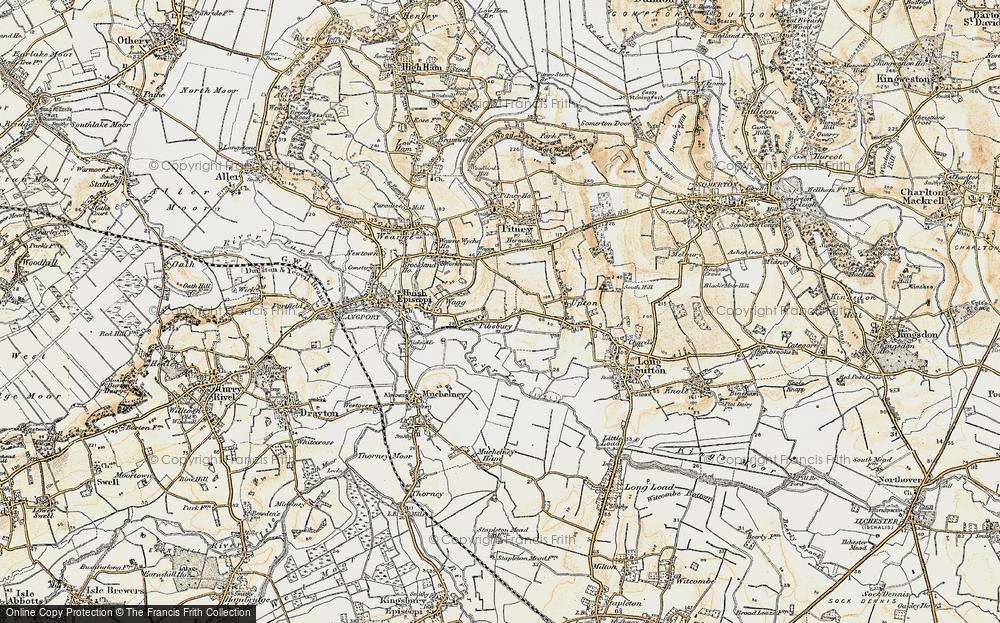 Pibsbury, 1898-1900