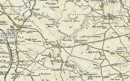 Old map of Astonhill in 1902-1903