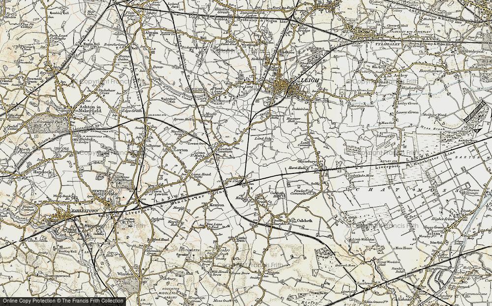 Old Map of Pocket Nook, 1903 in 1903
