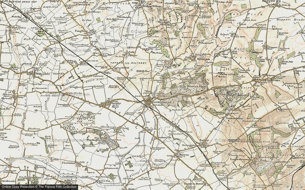 Map of Pocklington, 1903 - Francis Frith