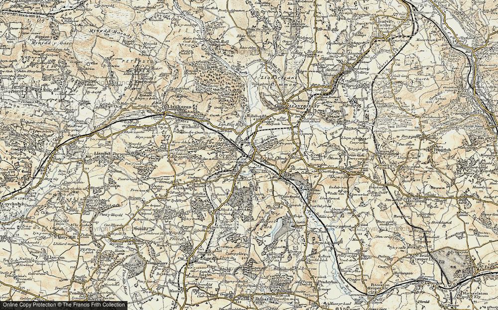 Pontyclun, 1899-1900