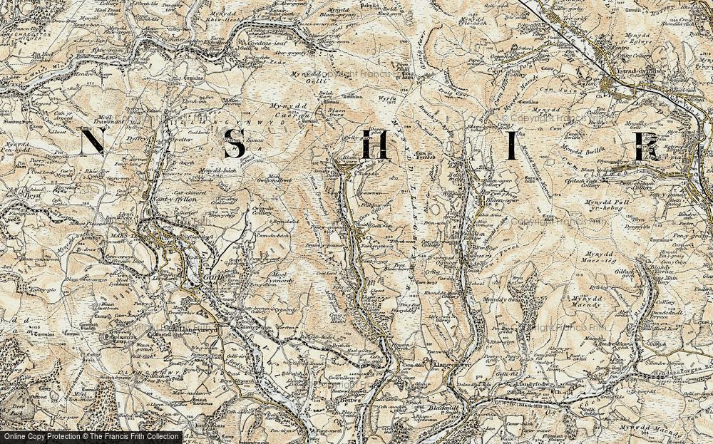 Pontycymer, 1900