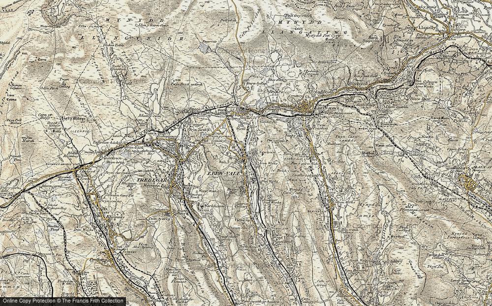 Pontygof, 1899-1900