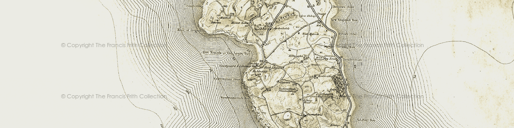 Old map of Port Logan in 1905