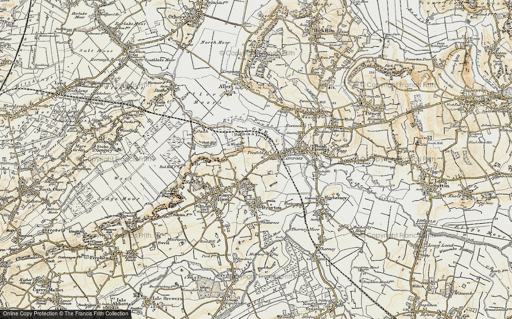 Old Map of Portfield, 1898-1900 in 1898-1900