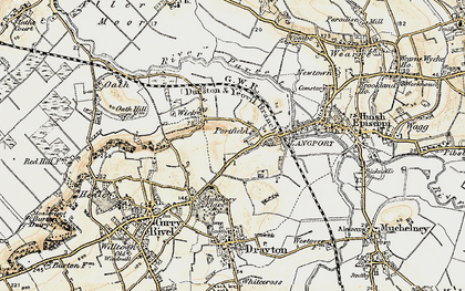 Old map of Portfield in 1898-1900
