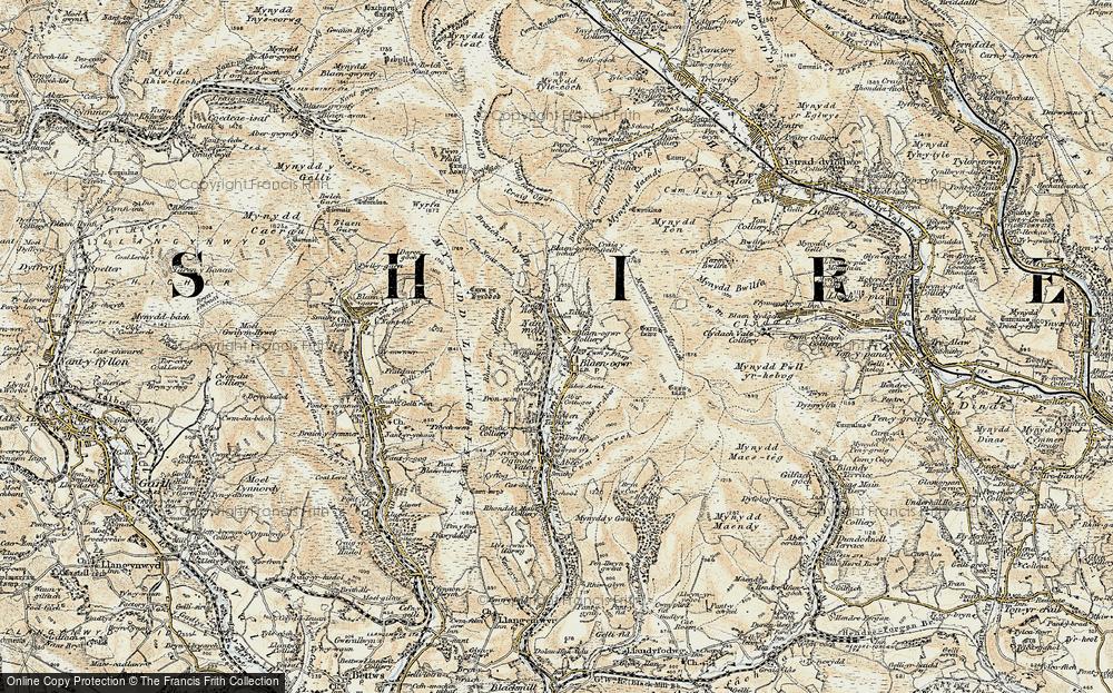 Price Town, 1899-1900