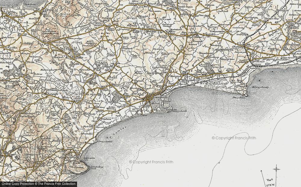 Old Map of Pwllheli, 1903 in 1903