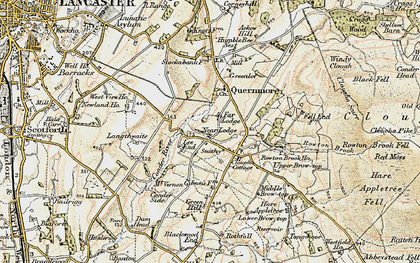 Old map of Lee End in 1903-1904