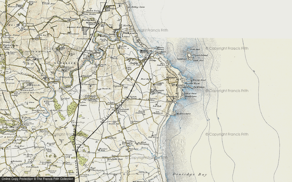Old Map of Radcliffe, 1901-1903 in 1901-1903