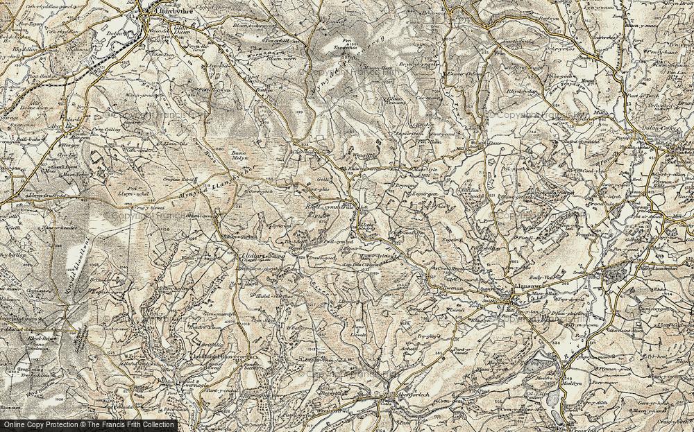 Rhydcymerau, 1900-1902