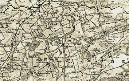 Old map of Windyridge in 1904-1905
