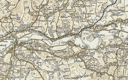 Old map of Rochford in 1901-1902