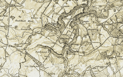 Old map of Yorkston in 1903-1904