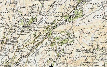 Old map of Woodland Grove in 1903-1904