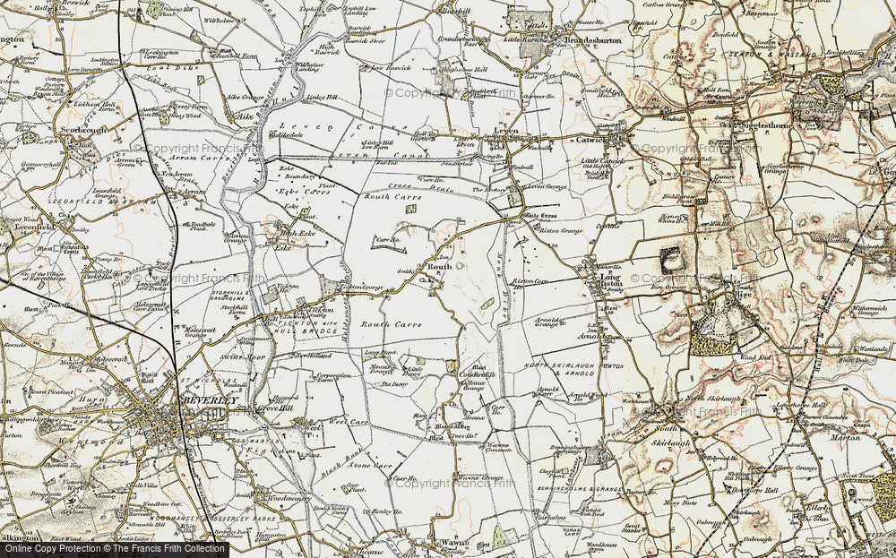Old Map of Routh, 1903-1908 in 1903-1908