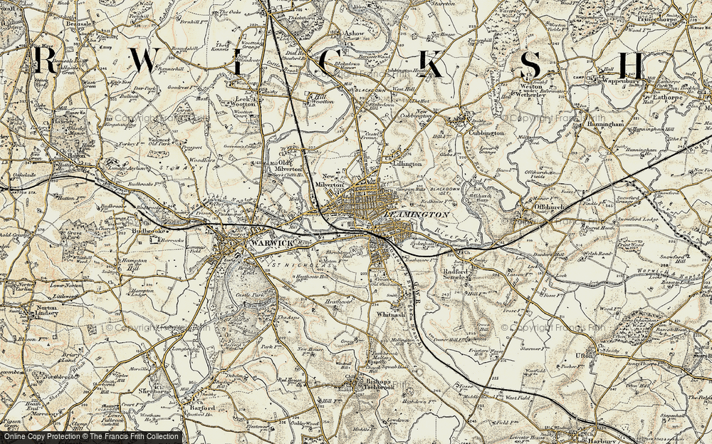 Old Map of Royal Leamington Spa, 1898-1902 in 1898-1902